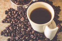 杯浓咖啡 免版税库存图片