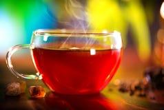 杯清凉茶 免版税图库摄影