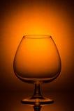 杯白兰地酒 库存图片