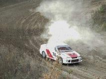 杯的决赛autocross的俄罗斯 免版税库存图片