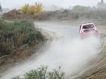杯的决赛autocross的俄罗斯 库存图片