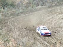 杯的决赛autocross的俄罗斯 免版税图库摄影