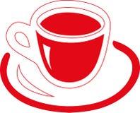 杯红色 免版税库存照片