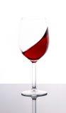 杯红葡萄酒 库存图片