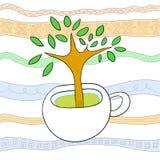 杯结构树 皇族释放例证