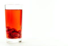 杯萸肉蜜饯 库存照片