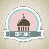 杯蛋糕 向量例证