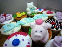 杯蛋糕 免版税库存图片