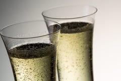 杯豪华香槟 免版税库存照片