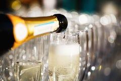 杯香槟 库存照片