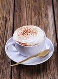 杯维也纳咖啡 库存照片