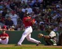 杰伊佩顿,波士顿红袜 免版税图库摄影