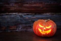 杰克灯笼头  万圣夜党, 10月 Treak或款待 免版税图库摄影
