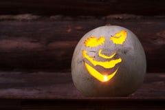 杰克灯笼头  万圣夜党, 10月 Treak或款待 免版税库存照片