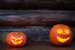 杰克灯笼头  万圣夜党, 10月 Treak或款待 免版税库存图片