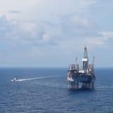 杰克石油钻井船具 免版税图库摄影