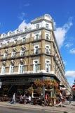 杰克赫纳客栈,托特纳姆法院路,伦敦 库存图片