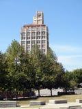 杰克逊大厦在街市阿什维尔,北卡罗来纳 库存照片