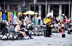 杰克逊广场在新奥尔良, LA 免版税库存图片