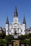 杰克逊广场,法国街区新奥尔良,路易斯安那。 免版税库存照片