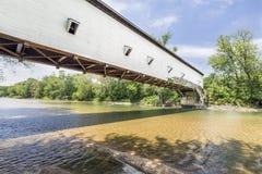 杰克逊桥梁在帕克县 库存图片