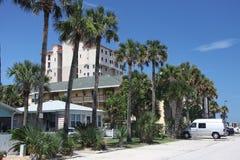 杰克逊维尔海滩城市在佛罗里达 免版税图库摄影