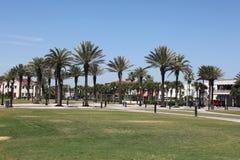 杰克逊维尔海滩城市在佛罗里达 免版税库存图片