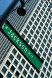 杰克逊街道 免版税库存照片