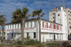 杰克逊维尔海滩救生员驻地 免版税库存图片