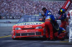 杰夫哥顿NASCAR赛车手 免版税库存图片