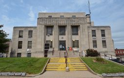杰弗逊县法院大楼 免版税库存图片