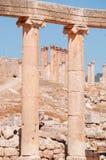 杰拉什,上古,杰拉什省,约旦,中东Gerasa  库存图片