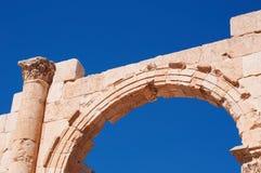 杰拉什,上古,杰拉什省,约旦,中东Gerasa  免版税库存照片