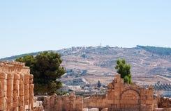 杰拉什,上古,杰拉什省,约旦,中东Gerasa  库存照片