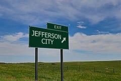 杰斐逊城 免版税图库摄影