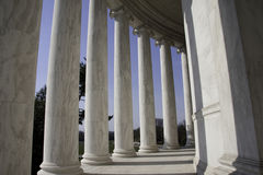 杰斐逊纪念品华盛顿 免版税图库摄影