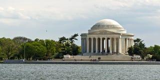 杰斐逊纪念品托马斯 免版税库存图片