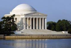 杰斐逊纪念品托马斯 免版税库存照片