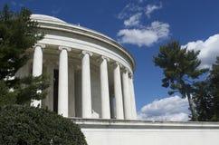 杰斐逊纪念品视图 库存照片