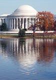 杰斐逊纪念碑 免版税库存照片