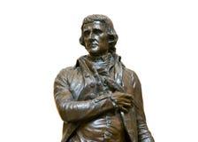 杰斐逊雕象托马斯 库存照片
