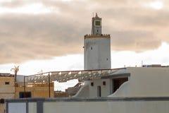 杰迪代-摩洛哥的都市风景 免版税库存照片