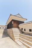 松山城堡,日本第三个门南塔楼  免版税库存图片