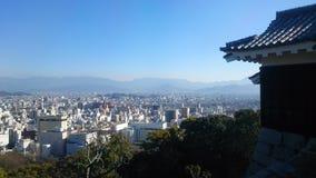 松山城堡 免版税库存照片