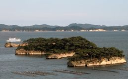 松岛 免版税库存照片