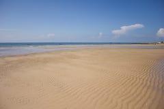 松弛海滩在MuiNe,越南 免版税图库摄影