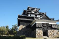 松江城堡 免版税库存照片