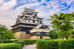 松江日本城堡 库存照片