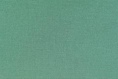 绿松石亚麻布 材料的纹理特写镜头视图  免版税库存照片