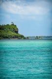 绿松石博拉博拉岛 库存照片
